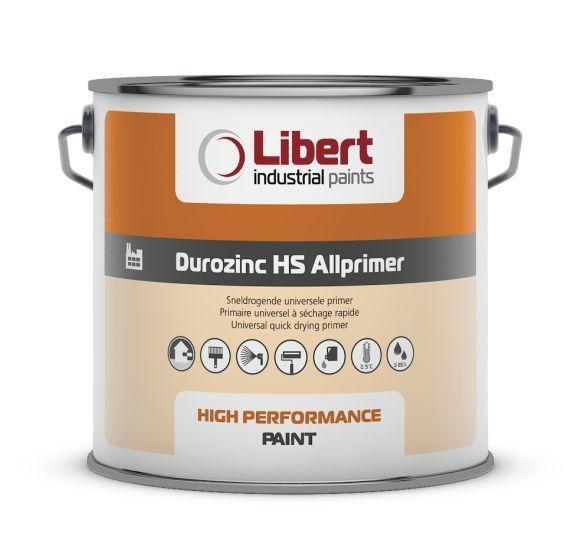 Libert Durozinc HS Allprimer 2,5 liter grijs