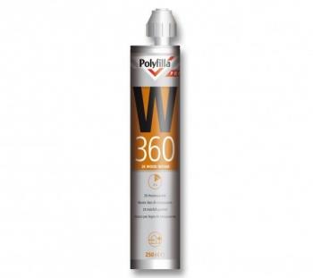 Polyfilla pro W360 - 2 component houtreparatie 250ml