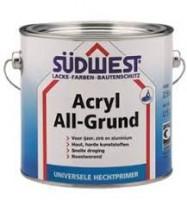 Vista Sudwest Acryl Allgrund Zwart 2,5 liter